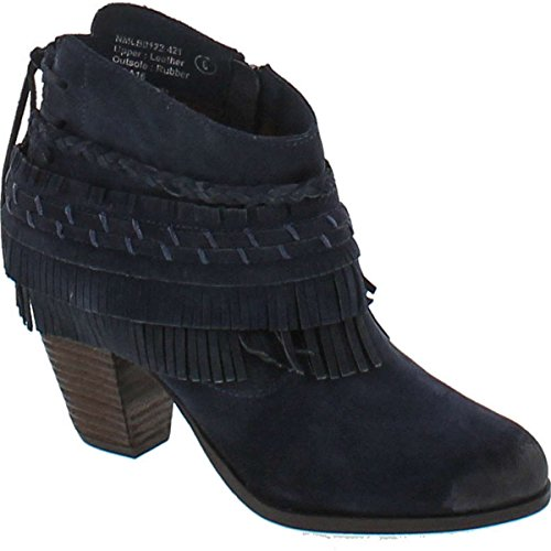 (Naughty Monkey Women's in Lyne Ankle Bootie, Indigo, 8 M US)