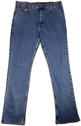 River Road Jean Company Big Mens Stretch Denim Jeans (Big & Tall and Regular Sizes)