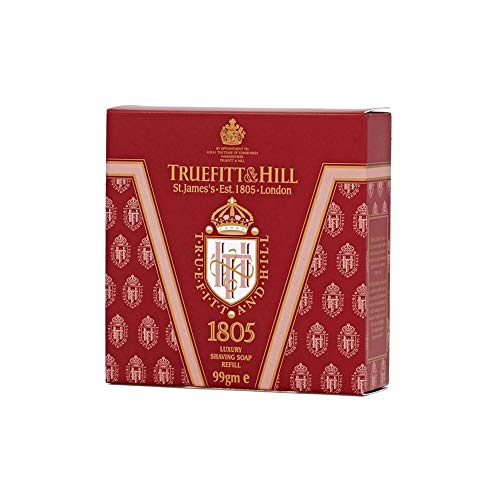 Truefitt & Hill 1805 Luxury Shaving Soap Refill for Wooden Bowl ()