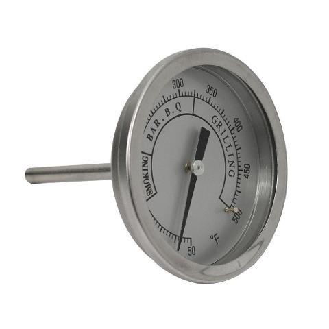 Brinkmann Grill Parts Pro Universal BBQ Grill Replacement Stainless Steel Premium Temperature Gauge (Smoker Grates Brinkman)