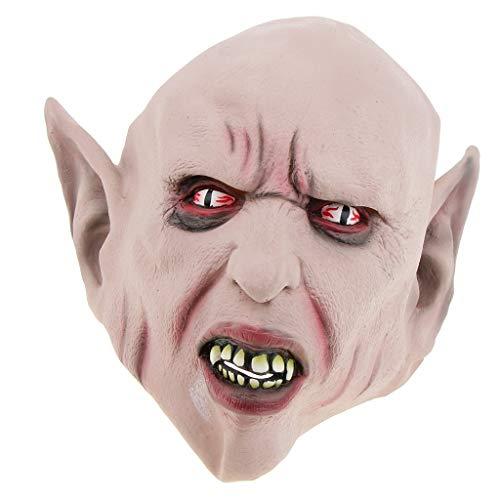 - Baoblaze Deluxe Novelty Halloween Cosplay Party Props Latex The Alien Devil Head Masks