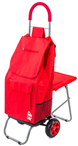 Shopping Trolley (Red) - 8