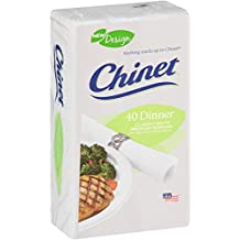 Chinet Classic Dinner Napkins, White, 480 Count