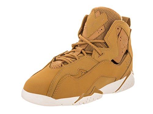 (Jordan Nike Kids True Flight BP Golden Harvest/Golden Harvest Basketball Shoe 3 Kids US)