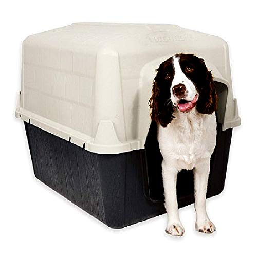 Wooden Puppy Pet Dog House No Tools Quick Assembly Popular Traditional Style Design - Skroutz Deals