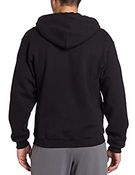 Russell Athletic Men's Dri Power Pullover Fleece Hoodie, Black, Medium 1