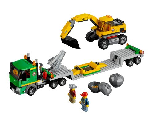 LEGO City 4203 Excavator Transport (305pcs)