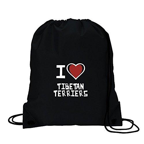 I love TIBET TERRIER Sport Tasche