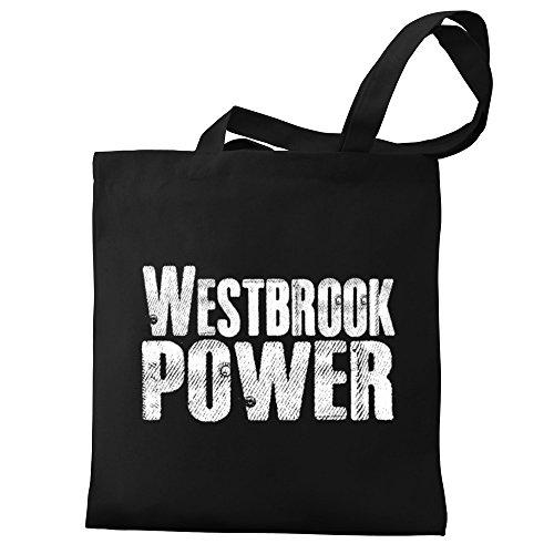Eddany Westbrook power Canvas Tote - Shopping Westbrook