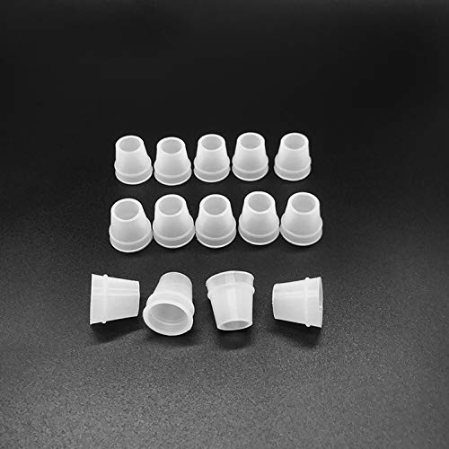 Hookah Grommet Hookah Hose Grommets White Small Size Shisha Hose Gromment Seal Rubber for Hookah/Water Pipe/Sheesha/Chicha/Narguile Accessories (10pcs) (Hookah Hose Accessories)
