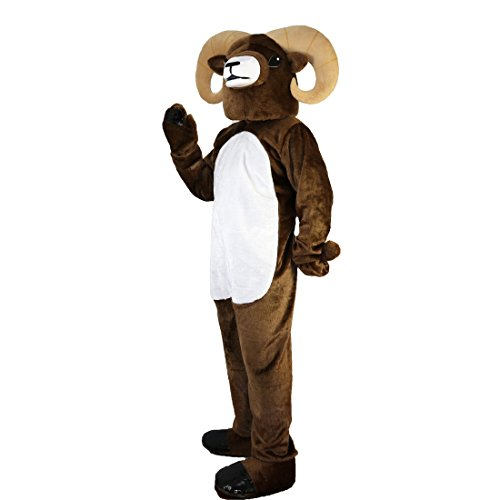 Langteng Antelope Ram Cartoon Mascot Costume Real Picture 15-20days delivery