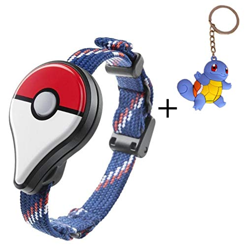 Aurora Originals Bluetooth Pokemon GO Wristband Bracelet Watch Game Interactive Toys for Nintendo Pokemon Go Plus Bluetooth Wristband Bracelet Interactive Watch Game + Poke Figure Toy Keychain