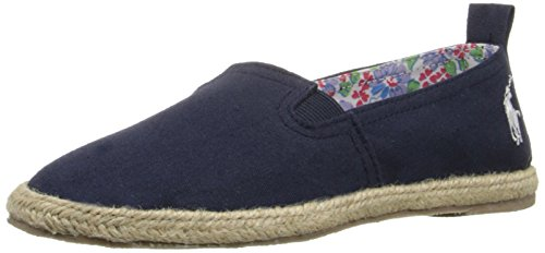Polo Ralph Lauren Kids Beakon N Canvas Fashion Espadrille (Toddler/Little Kid/Big Kid), Navy, 7 M US Toddler