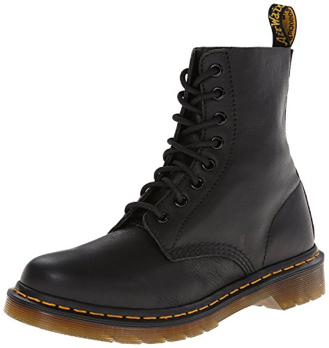 Dr. Martens Women's Pascal Combat Boot, Black, 4 UK/6 M US by Dr. Martens