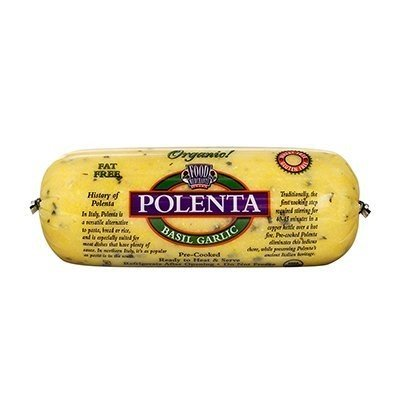 Food Merchants Polenta Basil Garlic -- 18 oz