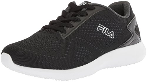 Fila Women's Memory KAMEO 3 Cross Trainer, Black/Castlerock/White, 12 Medium US Review