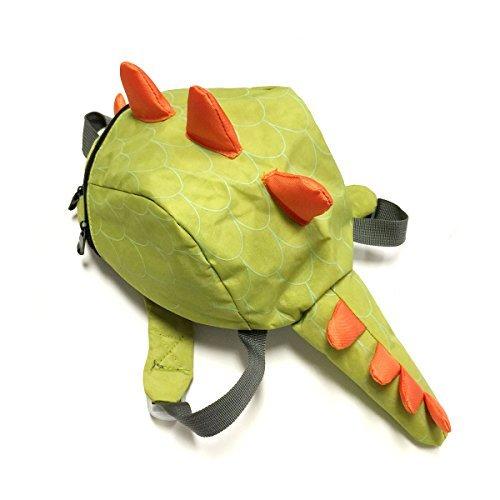 Wrapables Dinosaur Backpack for Toddlers - Kiwi [並行輸入品] B078WW888J