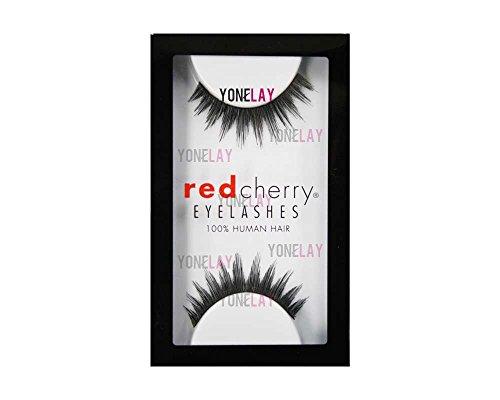 Red Cherry False Eyelashes #28 (Pack of 3)