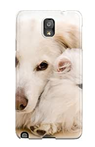 Excellent Design Cat And Dog Phone Case For Galaxy Note 3 Premium Tpu Case