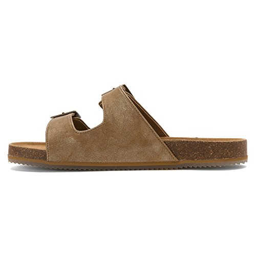 Bearpaw Womens Brooklyn Slide Carme Microsuede