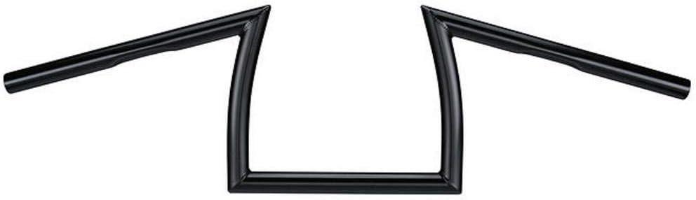 Biltwell HB-FLN-01-BK Black Tracker 1 Handlebar with Dimples for Factory Harley-Davidson Controls