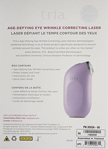 812438020655 - Tria Beauty Age-Defying Eye Wrinkle Correcting Laser ? FDA cleared ? younger looking skin in as little as 2 weeks carousel main 1