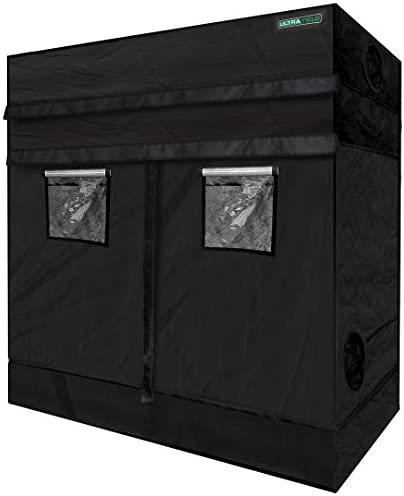 ULTRA YIELD 48 x96 x84 12 Extension Grow Tent – 1680D Mylar Professional Indoor Growing Tents – Use for Hydroponics Growing System – 4×8