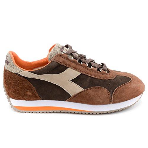 Diadora Heritage Equipe Evo II Sneakers Uomo Brown Java art.30044 TG. 42