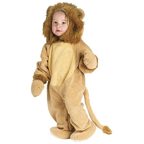 Fun World infant cuddly lion costume Multi (Cuddly Lion Baby Costume)