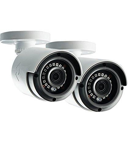Lorex LAB243B 4MP 2K HD Analog Bullet Security Camera 2-Pack