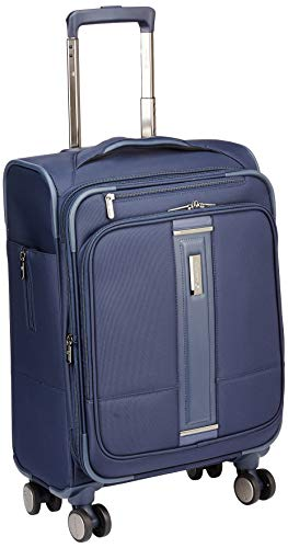 Carlton Edge Princeton Nylon 59 Cms Azure Softsided Cabin Luggage