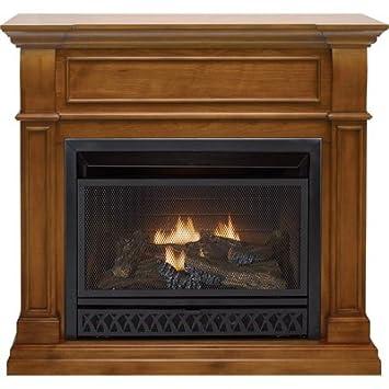 Amazon.com: ProCom Dual Fuel Vent-Free Fireplace - 26,000 BTU ...