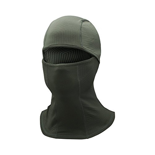 Under Armour Men's ColdGear Infrared Balaclava, Artillery Green (357)/Black, One Size