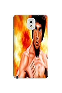 durable Hard TPU phone Case Cover Skin with fashionable New Style Popular Bruce Lee photo For Samsung Galaxy Note 3
