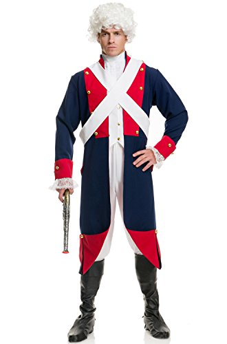 Men's (Adult Colonial Soldier Costumes)