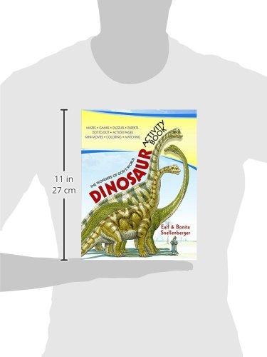 Dinosaur Activity Book: Earl and Bonita Snellenberger ...