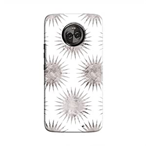 Cover It Up - Silver White Star Moto X4 Hard Case