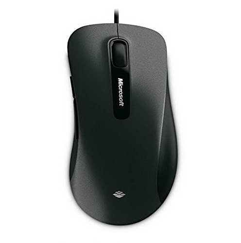 Micorsoft 6000 USB Wired Gaming Mouse(Black)
