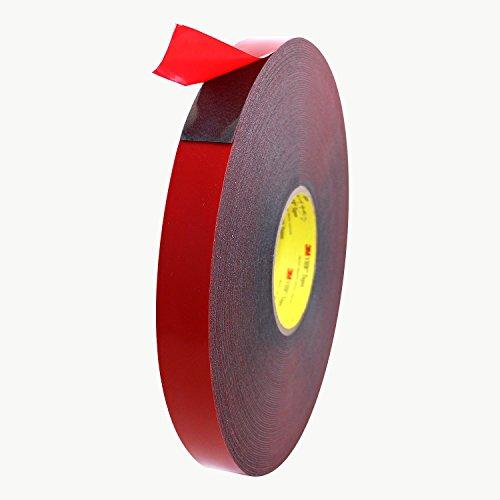 3M Scotch 4611 VHB Tape: 1 in. x 36 yds. (Dark Gray)