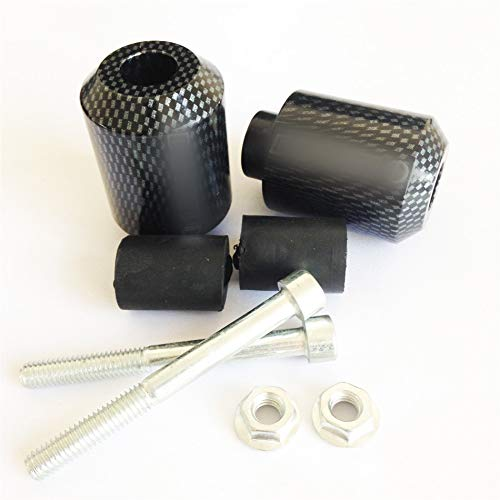 (XKH- Motorcycle Carbon Fiber Hand Bar End Compatible with Ducati Supersport 916 996 998 999 1098S 1098R 1198 [B00Y44OQ94])