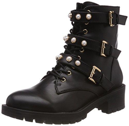 Boots Bianco Biker Bianco Damen Damen Pearl pHz6Pw