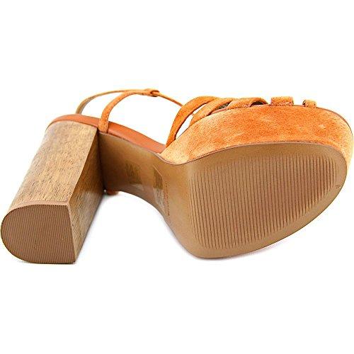 Steve Madden Gingur Camoscio Sandalo con la Zeppa