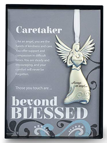 Babysitter Ornament - Beyond Blessed Angels Sentiment - Gift Caretaker/Nanny/Babysitter