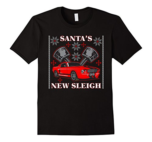 Santa's New Sleigh Muscle Car