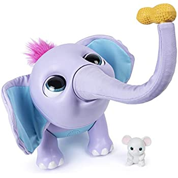 Amazon Com Furreal Friends Zambi The Baby Elephant Toys