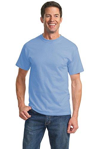 Port & Company Men's Tall Essential T Shirt 3XLT Light Blue