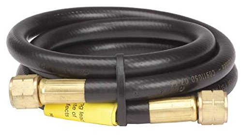 Mr. Heater 5' Propane Hose Assembly 9/16 left hand Female Pipe Thread on both - Hose Left