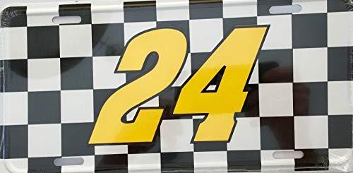 Jeff Gordon #24 .Premium Embossed License Plate (LP-1109-193)