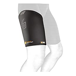 Shock Doctor Thigh-Groin Sleeve (Black, Large)
